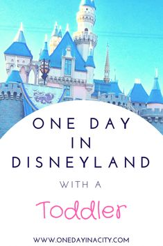It IS possible to have a fun time at Disneyland with a toddler! This in-depth article has the top 10 tips for visiting Disneyland with a toddler plus a detailed itinerary of how to plan out your day to minimize the chance of a toddler meltdown and maximize your fun.  #FamilyTravel #Disneyland #toddler #california #top10traveldestinationsinamerica