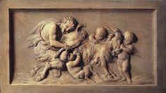 Chardin, Jean-Babtiste-Siméon (1699-1779) - Ziege und Satyrn