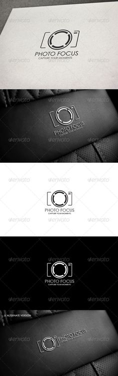 Photo PSD Focus  Logo Template • Only available here ➝ http://graphicriver.net/item/photo-focus/8204409?ref=pxcr