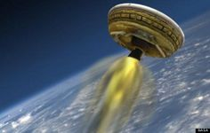 NASA To Test-Launch A Real-Life 'Flying Saucer' For Travel To Mars #space #mars