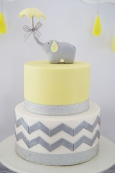 yellow and grey elephant party
