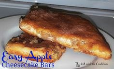 The Cat and the Cauldron: Pinterest Project #149 Easy Apple Cheesecake Bars