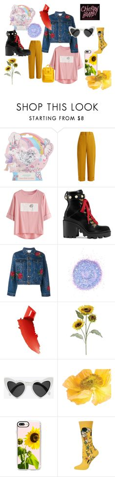 """""""Mike/boy"""" by magzeg on Polyvore featuring Monsoon, Chloé, Gucci, Ashish, The Gypsy Shrine, By Terry, Pier 1 Imports, Yves Saint Laurent, Casetify and HOT SOX"""