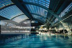 Swimming Pool in West Edmonton Mall, Edmonton, Alberta, Canada.