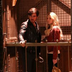 #CaptainSwan venture to the depths of hell tonight on #OnceUponATime.