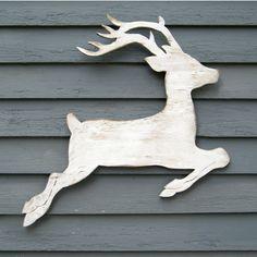 Christmas Wood Reindeer