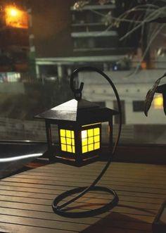 [썸띵플레이] 호롱불 센서 무드등 태양열충전 LED 램프 ₩26500