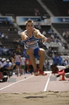 Day 2: Finland's Aleksi Tammentie during men's triple jump qualification at the European Athletics Championships Helsinki 2012 in Helsinki on Thursday, 28th June, 2012.