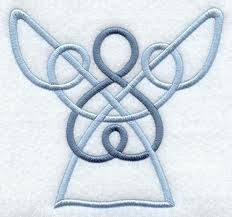 Celtic Angel....idea: make jig to do this in bent wire etc