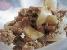 Jillian Michaels Healthy Apple Crisp!!