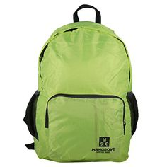MANGROVE Ultralight Packable Travel Backpack 20L Neon Yellow -- Click image for more details. (Note:Amazon affiliate link)