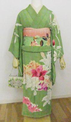 mokuren kimono set