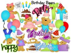 Birthday Bears: click to enlarge