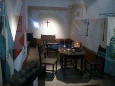 Habitación que ocupo el general San Martín, en el convento de San Carlos, luego de la batalla de San Lorenzo...