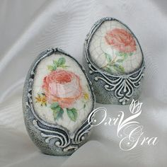 Oxi po raz pierwszy: Z tęsknoty za słońcem Egg Crafts, Easter Crafts, Arts And Crafts, Decoupage, Hoppy Easter, Easter Eggs, Types Of Eggs, Incredible Eggs, Carved Eggs