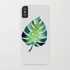 Monstera Leaf iPhone Case by schimoni_art Iphone Cases, Art, Art Background, Kunst, Iphone Case, I Phone Cases, Performing Arts