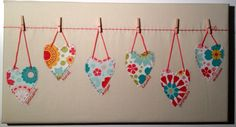Love these hearts - totally hand stitched with words from 1 Corinthians 13... Find me on Facebook too, or at Bury St Edmunds Christmas Fayre 28 Nov to 1st Dec 2013... www.sarahstitches.co.uk