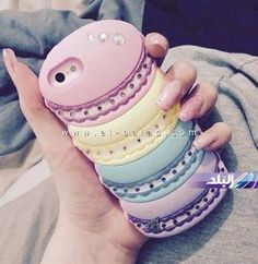 Colorful macarons  Phone cases  _______________________