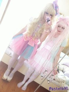 Pastel Bat is a Tumblr famous lolita style blogger.