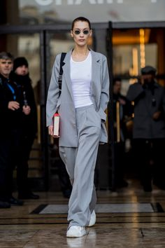 The Best Street Style Looks From Paris Fashion Week Fall 2019 Paris Fashion Week Street Style, Best Street Style, Model Street Style, Autumn Street Style, Cool Street Fashion, Casual Street Style, Look Fashion, Street Style Women, Daily Fashion