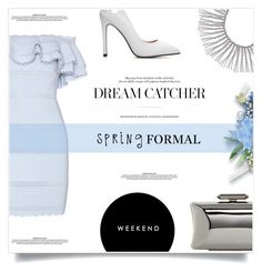 """Spring Formal"" by antemore-765 ❤ liked on Polyvore featuring Alexander McQueen, Rebecca Minkoff and Treesje"