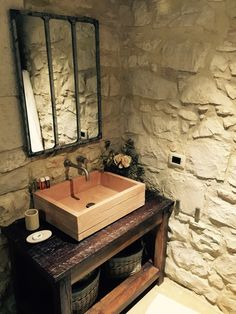 Washbasin crate inspiration handmade
