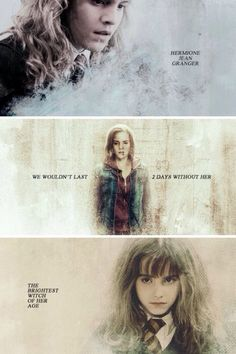Hermione Granger has been and always will be my favourite HP character.