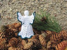 Christmas tree topper Christmas decor Crochet by InKasTrifles