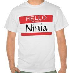 Hello My Name Is Ninja
