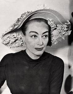 Joan Crawford wearing Walter Florell