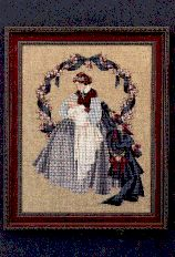 Beautiful cross stitch of mom & baby ~ yes, I have made this one too :-)