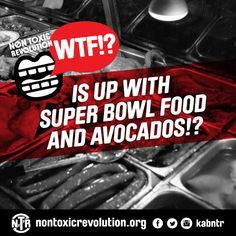 WTF!? Is Up With Super Bowl Food And Avocados!? #superbowl #food Your Mouth, What You Eat, Eating Well, Super Bowl, Healthy Life, Avocado, Food And Drink, Healthy Living, Lawyer