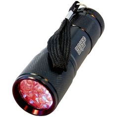 HQRP 9 LEDs Pocket Red Light Flashlight for Viewing Star Maps  Nighttime Activities plus HQRP UV Meter ** Continue to the product at the image link.