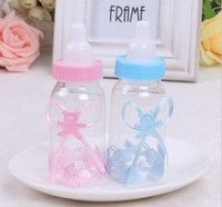 Wish | SuperDeals 12X BabyShower Baptism Christening Birthday Gift Party Favors CandyBox Bottle ES HI