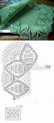 Crochet rug crochet carpet doily lace rug by eMDesignBoutique Crochet Doily Patterns, Crochet Borders, Thread Crochet, Easy Crochet, Crochet Stitches, Crochet Edgings, Crochet Table Runner, Crochet Tablecloth, Crochet Dollies