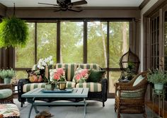 Another good screen porch idea