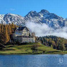 Waldhaus Am See Hotel, St. Moritz, Switzerland