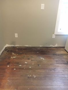How We Refinished Our Old Wood Floors In 6 Hours – Flooring Cleaning Wood, Old Wood Floors, Vintage Floor, Old Wood, Flooring, Refinish Wood Floors, Hardwood, Refinished, Diy Wood Floors