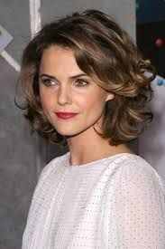 Image result for perm short hairstyles round face. over 40's