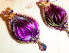by Mabi Shibori, Swarovski, Silk, Jewelry, Fashion, Moda, Jewlery, Jewerly, Fashion Styles