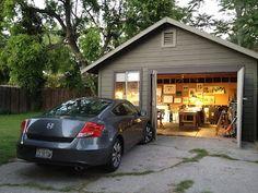 Art and Life, Joseph  Stoddard's garage studio