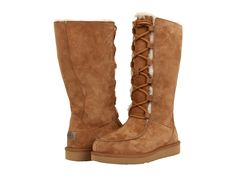 UGG Uptown II Chestnut ~ Great boot and I like wearing styles that others aren't always sporting. Stylish Winter Boots, Winter Shoes, Winter Wear, Hiking Boots Women, Snow Boots Women, Cheap Boots, Cool Boots, Sorel Boots Womens, Boots Store