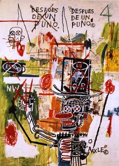 Cheap poster print design, Buy Quality print process directly from China poster printing material Suppliers: 2016 Paintings For Graffiti Art Print On Canvas DESPUES DE UN PUNO By Jean Michel Basquiat Neo Expressionism For Home Decoration Jean Basquiat, Jean Michel Basquiat Art, Kandinsky, Keith Haring, Graffiti Art, Robert Rauschenberg, Pop Art Andy Warhol, Radiant Child, Art Brut