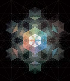 The Amazing Geometric & Polygonal Compositions of Andy Gilmore.