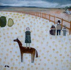 Amanda Blake: love her work. Even have one print.