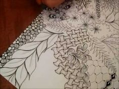 ▶ Another Intricate Zentangle - YouTube