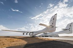 boasting the widest wingspan in the world at 385 feet (117 meters), the stratolaunch is one step closer to the sky following recent runway tests.