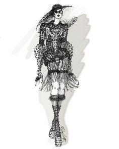 """myrtlequillamor:  """"Black Widow"""" Sketch. Myrtle Quillamor. New York, 2013."""