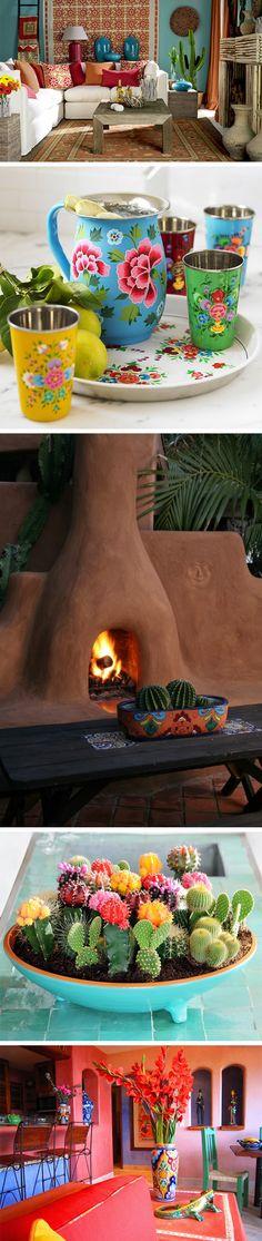 Decoração mexicana | Blog Lolahome