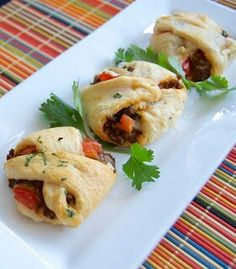 Mini Taco pockets - Recipe with photos